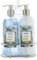 SONOMA Goods for LifeTM Pure Cotton Kitchen Bath Caddy Gift Set