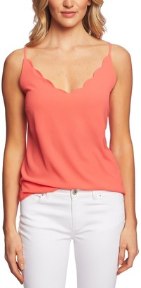 Cynthia Steffe Cece By Scalloped Camisole