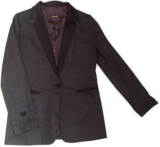 Jo No Fui Grey Wool Jackets