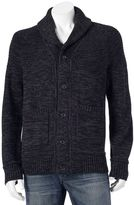Apt. 9 Men's Modern-Fit Marled Shawl-Collar Cardigan