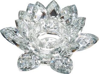Sagebrook Home Silver Crystal Votive Candle Holder 6In