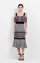 Nicole Miller Mola Maze Midi Dress