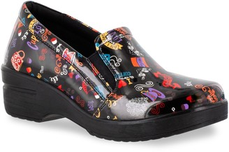 Easy Street Shoes Easy Works by Leeza Women's Work Clogs