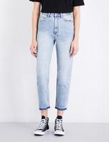 Ksubi Boyfriend-fit high-rise jeans