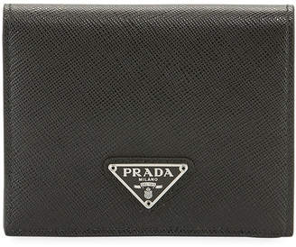Prada Hidden Print French Wallet