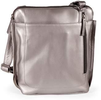 Derek Alexander Large Leather Crossbody Bag