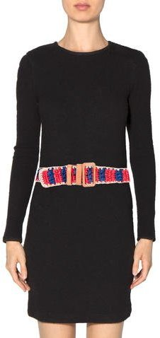 Prada Multicolor Straw Belt