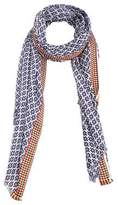 Mango Outlet Contrast trim scarf