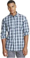 Joe Fresh Men's Plaid Flannel Shirt, Blue Grey (Size S)