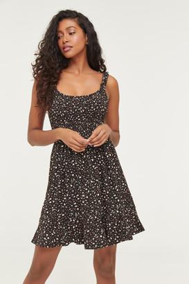 Ardene Mini Smocked Bodice Dress