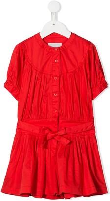 Stella Mccartney Kids Drop Waist Cotton Dress