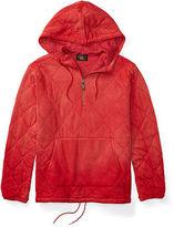 Ralph Lauren RRL Quilted Cotton Pullover Hoodie