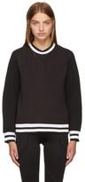 Versus Black Embossed Logo Sweatshirt