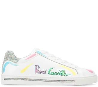Rene Caovilla watercolour signature sneakers