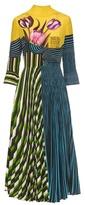 Mary Katrantzou Carni Tulip-print silk dress