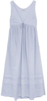 Three Graces London Lindera Cotton-poplin Nightshirt