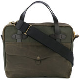 Filson tablet briefcase - unisex - Cotton/Leather - One Size