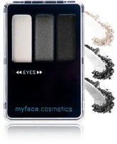 myface cosmetics Eyetouch Eye Shadow Soulful Shade Trio - Midnight Hour