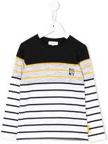 DKNY striped sweatshirt - kids - Cotton - 6 yrs