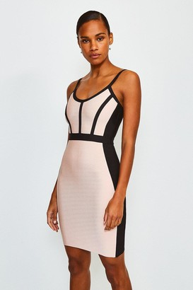 Karen Millen Seamed Bandage Dress