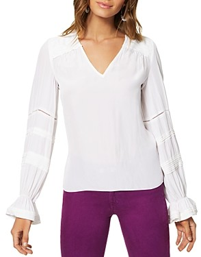 Ramy Brook Finn Long-Sleeve Blouse