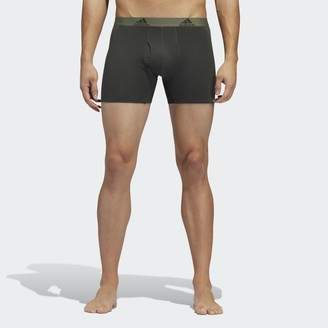 adidas Stretch Cotton Boxer Briefs 3 Pairs