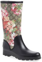 Gucci Women's 'Prato - Gg Blooms' Rain Boot