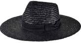 San Diego Hat Company Women's Pinched Crown Wheat Straw Sun Brim Hat WSH1107