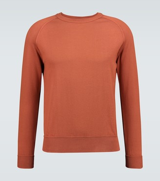 Thom Sweeney Raglan cotton sweatshirt
