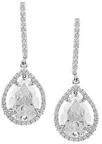 Cezanne Cubic Zirconia Stick & Teardrop Earrings