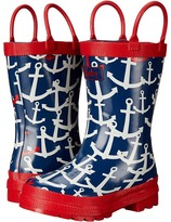Hatley Scattered Anchors Rainboots (Toddler/Little Kid)