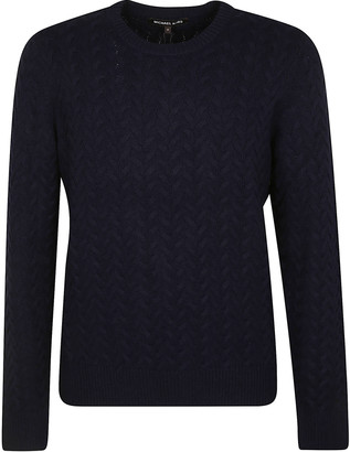 Michael Kors Ribbed Woven Sweater