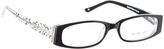 Black & White Leopard Eyeglasses