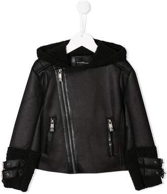 John Richmond Junior zipped biker jacket