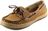 UGG Tylin Women US 6 Tan Boat Shoe