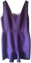 Christian Dior Purple Wool Dress for Women