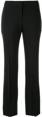 Alexander McQueen classic straight-cut trousers