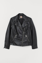 H&M H&M+ Biker Jacket - Black