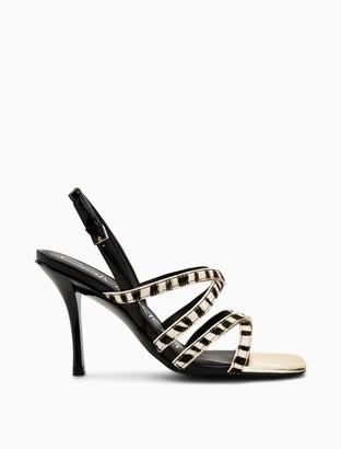 Calvin Klein Miu Zebra Haircalf Sandal