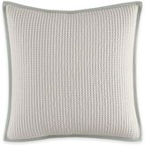 Vera Wang Home Painted Stripe Ribbon Square Throw Pillow in White