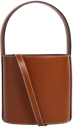 STAUD Leather Bisset Bucket Bag