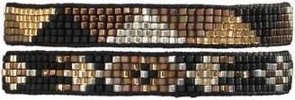 LeJu London Beaded Set Of Two Bracelets In Neutral Tones