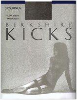 Berkshire Women's Kicks Ultr Sheer Thigh High Pntyhose 1579, Blck