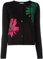 Moschino daisy intarsia cardigan - women - Virgin Wool - 38
