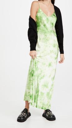 Dannijo Tie Dye Long Slip Dress