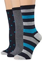 MIXIT Mixit 3 Pair Crew Socks