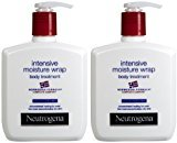 Neutrogena Norwegian Formula Intensive Moisture Wrap Body Treatment, Fragrance Free, 10.5 oz, 2 pk