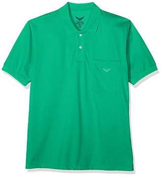 Trigema Men's 627602 Polo Shirt, Cool-Grey 012, XX-Large