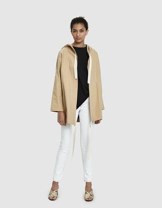 Stelen Women's Saya Canvas Jacket in Khaki, Size Large   100% Cotton