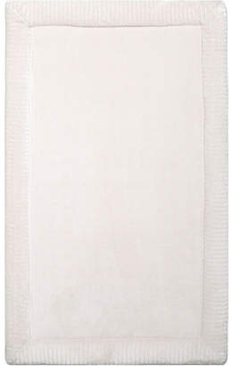 Christian Siriano Home Dynamix New York Spa Retreat Memory Foam Borders Embossed Microfiber Bath Mat Bedding